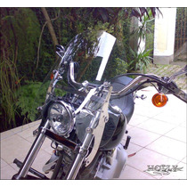 Parabrisa Holly Sport 3mm Fat Boy Softail Destacável