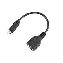 Adaptador Micro Usb Macho P/ Femea Modem Gps Tablet Pen Driv