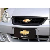 Grade Tela Corsa Classic 2010 C/3 Partes Emblema Dourado
