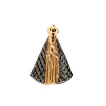 Pingente Ouro 18k - Nossa Senhora Aparecida + Frete