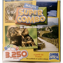 Quebra-cabeca - Maleta Super Kombo - 3250 Peças
