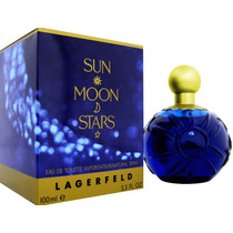 Perfume Sun Moon Stars Lagerfeld Edt Feminino 100ml+ Brinde!