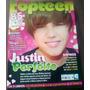 Justin Bieber - Revista Topteen 14- Crepúsculo/ Lady Gaga