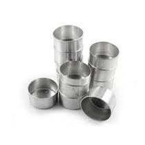 Forminha Para Pão De Mel Nº 2 Kit Com 12 Unidades Aluminio