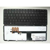 Teclado Hp Dm4-1000 Dv5-2000 Dv5-2100 Com Iluminação - Us