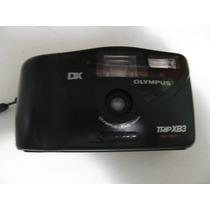 Máquina Fotográfica Camera Olympus Trip Xb3 Com Flash Estojo