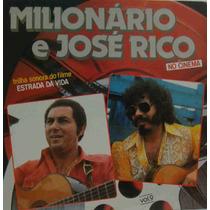 Milionário E José Rico Lp Nacional Usado No Cinema 1980