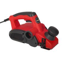 Plaina Elétrica 800w Vermelha Com Empunhadura