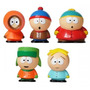 5 Bonecos South Park Stan Eric Kyle Kenny Butters 6cm Pvc