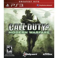 Call Of Duty 4: Modern Warfare - Jogo Ps3 Mw1 - Em Disco