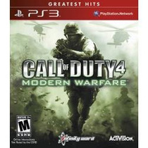 Call Of Duty 4: Modern Warfare - Jogo Ps3 Mw1 Semi Novo