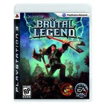 Jogo Americano Semi Novo Brutal Legends Pra Playstation Ps3