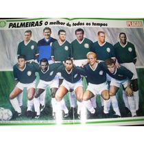 Poster Palmeiras Melhor Time De Todos Os Tempos