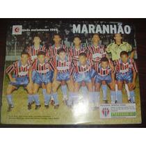 Poster Maranhão E Ferroviário Campeão 1995 Placar Fret Grats