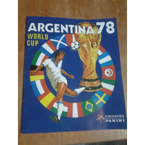 Album Copa Do Mundo Argentina 1978 Panini Impresso