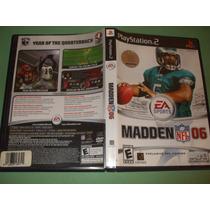 Madden Nfl 06 Original Playstation 2 (ps2)