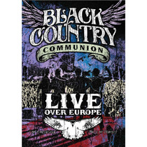 Black Country Communion Live Over Europe (import) Dvd Novo