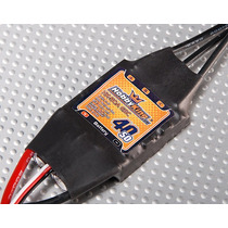 Esc Speed Control Hobby King 40a (pico 50a) - Brushless