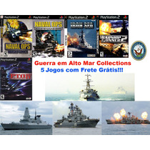 Navio De Guerra Collections - Playstation 2 - Frete Gratis.