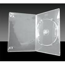 Box Dvd Slin Amaray Transparente Estojo P/ Cd E Dvd 100