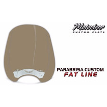 Parabrisa (bolha) Modelo Fat Line Intruder 1400 - Bo017