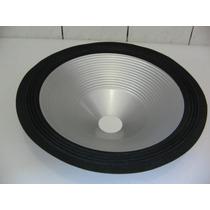 Cone De Alumínio 15 Polegadas P/ Falante De Contra Baixo