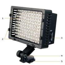 Iluminador Led Hd-160 Cn Panasonic Nikon Canon Sony 3200k