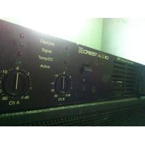 Potencia Crest Audio 3301, Mea,studio R, Rcf