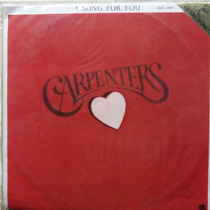 Lp Carpenters/a Song For You/1972/otimo Estado.