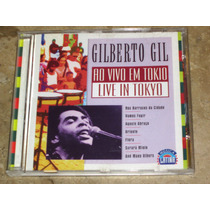 Cd Imp Gilberto Gil - Live In Tokyo (88) C/ Raul Mascarenhas