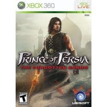 Jogo Lacrado Prince Of Persia The Forgotten Sands Xbox 360