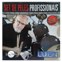 Kit Peles P Bateria Luen Silent Head Std 12 13 14 16 4541