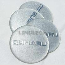 Emblemas Centro Rodas Subaru Pr Wrx Impreza Forester Outback