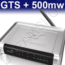 Super Ap Power Gts Wireless-n + Controle De Banda + 500mw