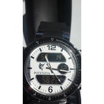 Relógio Masculino Analógico E Digital Multifunction Chronos