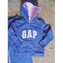 3-4 Anos: Moletom Completo (calça + Blusa) Gap (eua)