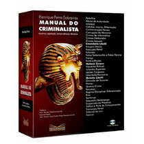 Livro Manual Do Criminalista + Cd-rom