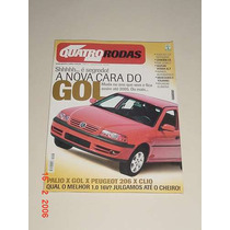 * Revista Quatro Rodas - A Nova Cara Do Gol - Nov 2001 *