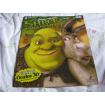 Album De Figurinhas Shrek Para Sempre Completo Para Colar.