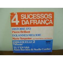 Compacto Disco Vinil 4 Sucessos Da França Emmanuelle 2 1976