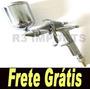 Pistola Pintura Gravidade Bico 0.5 Aerografo Frete Grátis Br
