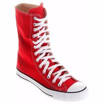 Tênis Converse All Star Specilty Cano Alto Vermelho - Rock