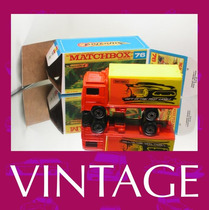 1981 Matchbox Lesney Volvo Truck + Custom Box