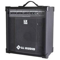 Caixa Amplificada Lx 100 Fm Usb Multiuso Lx100 Mp3 E Rádio