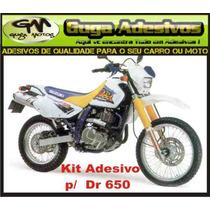 Kit Adesivos Repainted P/ Suzuki Dr 650 (guga)