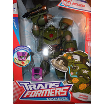 Transformers Animated Bulkhead Leader Level 3 Marvel