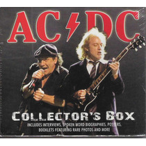 Ac/dc Collectors Box (lacrado) 3 Cds Box Import