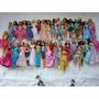 Coleção 46 Barbies + 11 Bratz + 04 Moranguinhos + 07 Winks