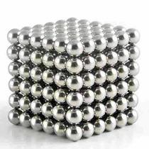 Neocube Prata 216 Imãs Cubo Magnetico 5mm Lata Esferas
