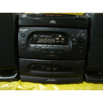 Micro-system Sharp Cd-c454 - 3 Cd S - D.deck - 1.000w - Pmpo